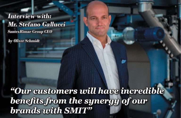 The synergy of our brands with SMIT SANTEX RIMAR GROUPhas the ambition…