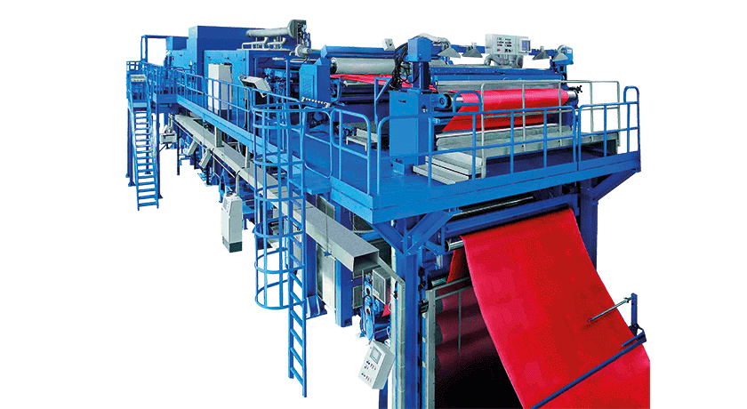 ISOBELT Conveyor belts textile machine