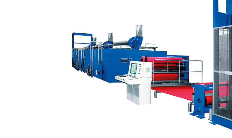 ISOGLASS Fiberglass fabrics machine