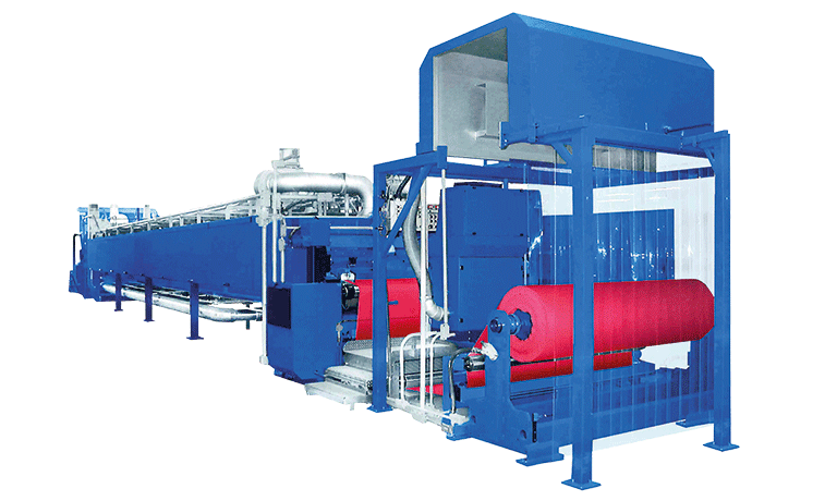 ISORUBBER Rubber-coated fabrics machine