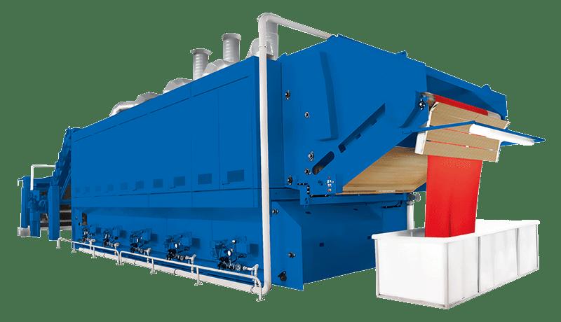 SANTASHRINK SUPER_JUMBO drying, shrinking and relaxing machine
