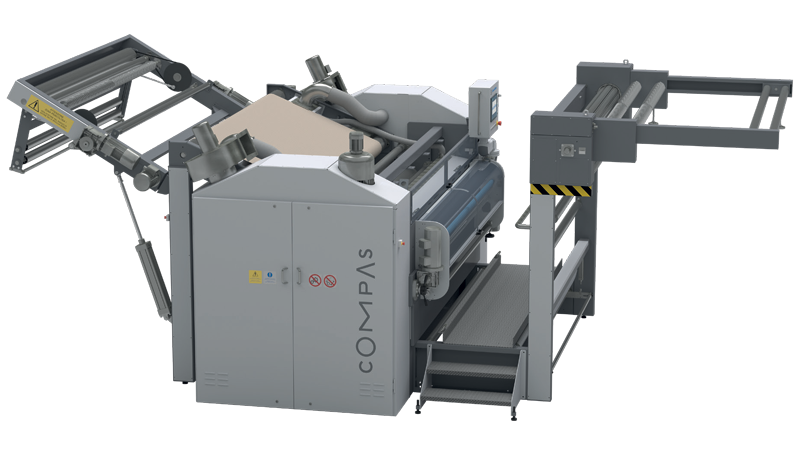 Compas - Open Width Compacting And Finishing Calender Machine