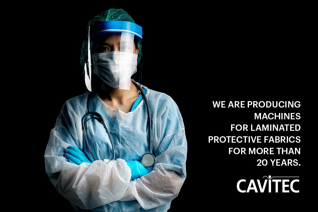 laminated protective fabrics machines cavitec