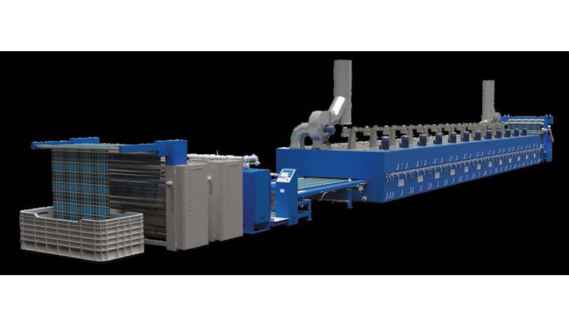 textile stenter machine santaframe santex